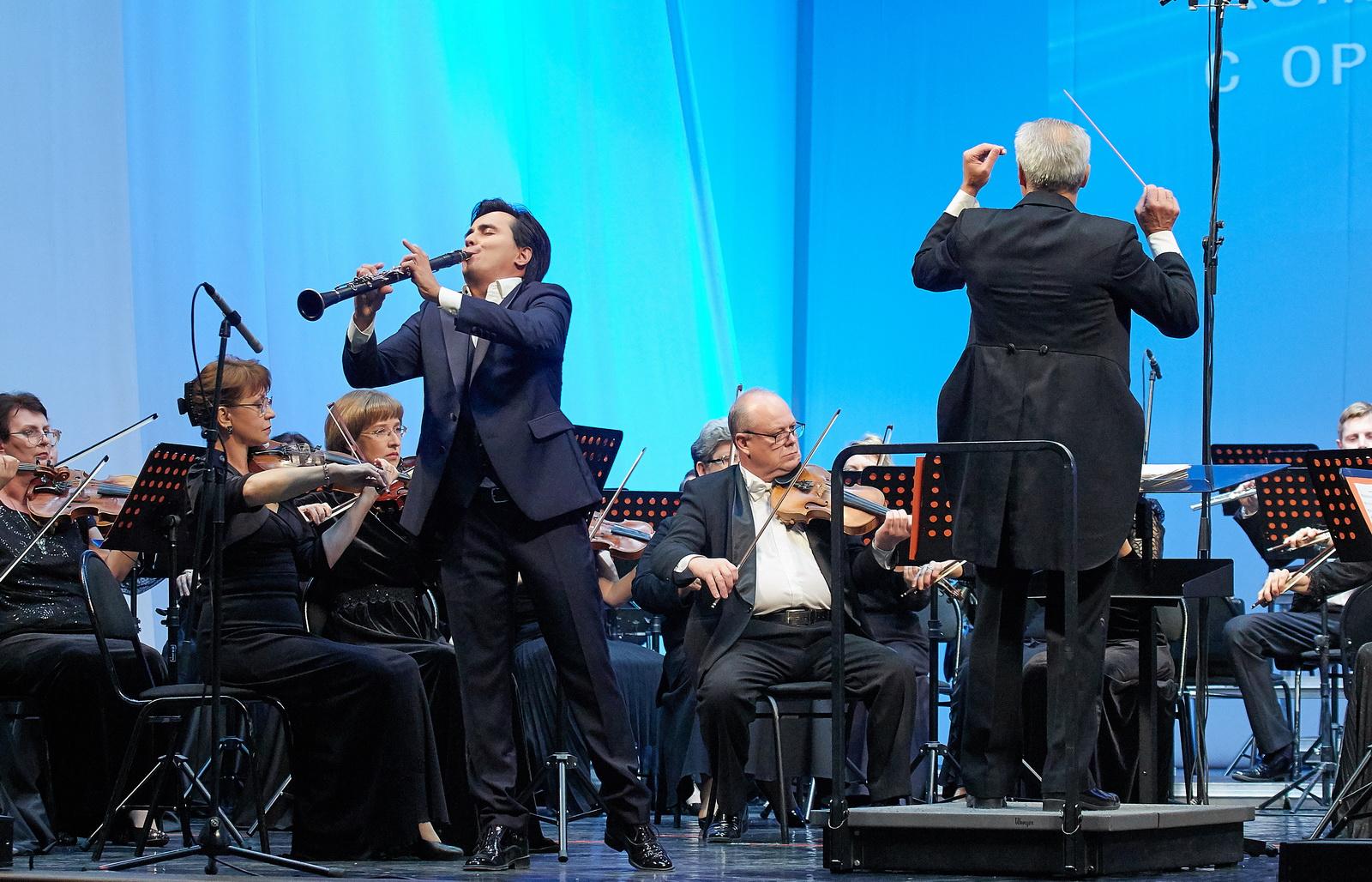 Закрытие концертного сезона Губернаторского симфонического оркестра. Солист Артур Назиуллин (кларнет)
