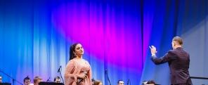 Концерт «Грусть и радость моя!» Гегине Айрапетян и Губернаторский духовой оркестр